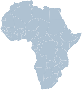 africa map no background